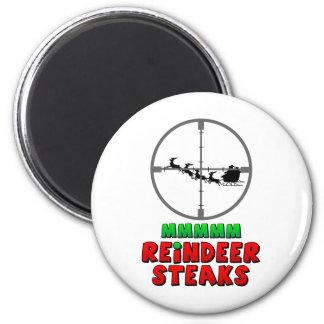 Mmmm… Reindeer Steaks Magnet