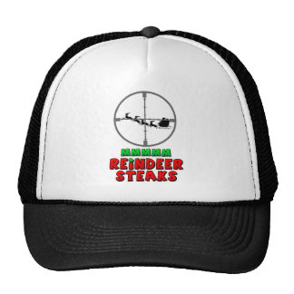 Mmmm Reindeer Steaks Trucker Hat