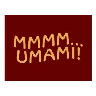 Mmmm Umami Postcard