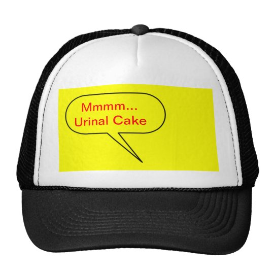 Mmmm Urinal Cake Trucker Hat