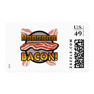 Mmmmm, Bacon Postage Stamp
