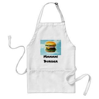 Mmmmm! Burger Apron