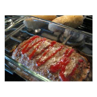 Mmmmm, Meatloaf! Recipe Card Postcard