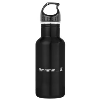Mmmmm...PI Stainless Steel Water Bottle