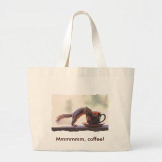 Mmmmmm, Coffee! Large Tote Bag