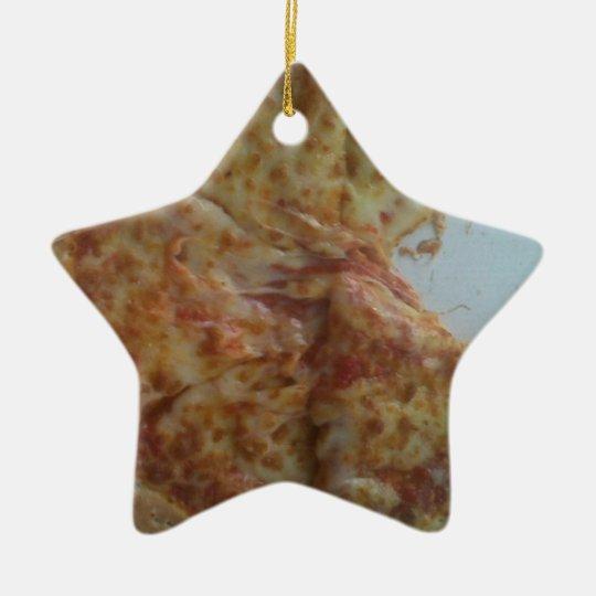 Mmmmmmm.....pizza Ceramic Ornament