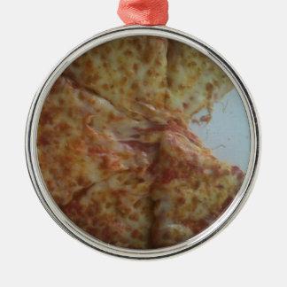 Mmmmmmm.....pizza Metal Ornament