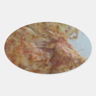 Mmmmmmm.....pizza Oval Sticker