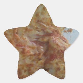 Mmmmmmm.....pizza Star Sticker