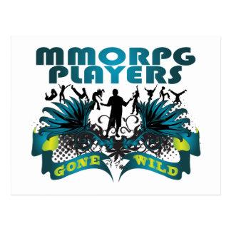 MMORPG Players Gone Wild Postcard