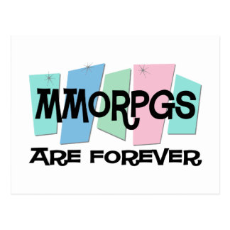 MMORPGs Are Forever Postcard