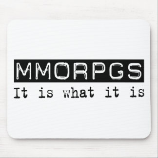 MMORPGs It Is Mouse Pad