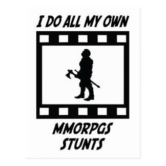 MMORPGs Stunts Postcard