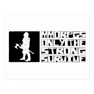 MMORPGs Survive Postcard