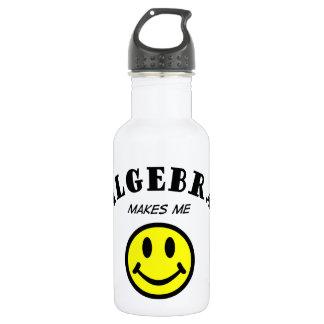 MMS: Álgebra Botella De Agua De Acero Inoxidable