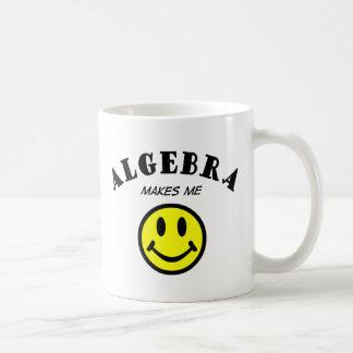MMS: Algebra Classic White Coffee Mug