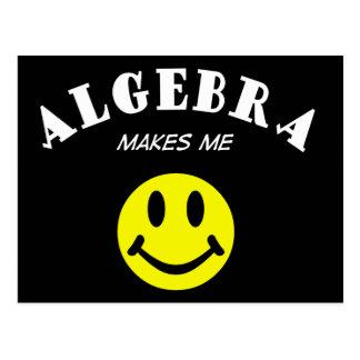 MMS: Algebra Postcard
