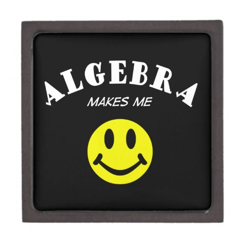 MMS: Algebra Premium Jewelry Box