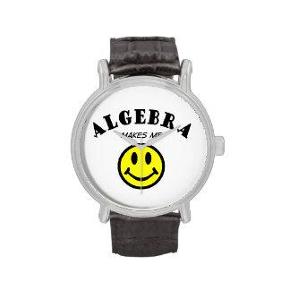 MMS: Álgebra Relojes