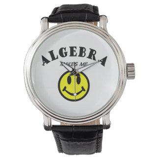 MMS: Álgebra Reloj