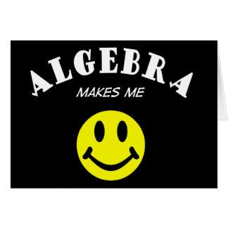 MMS: Álgebra Tarjeta De Felicitación