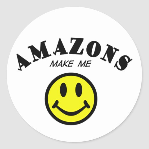 MMS: Amazons Classic Round Sticker