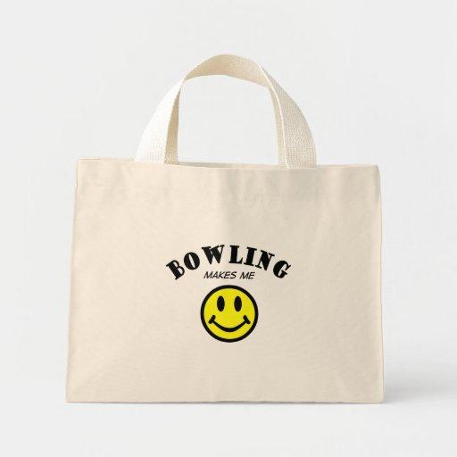 MMS: Bowling Mini Tote Bag