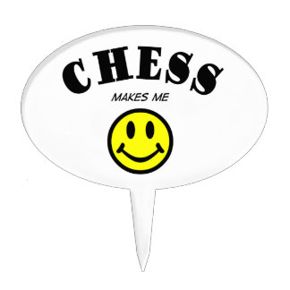 MMS: Chess Cake Topper