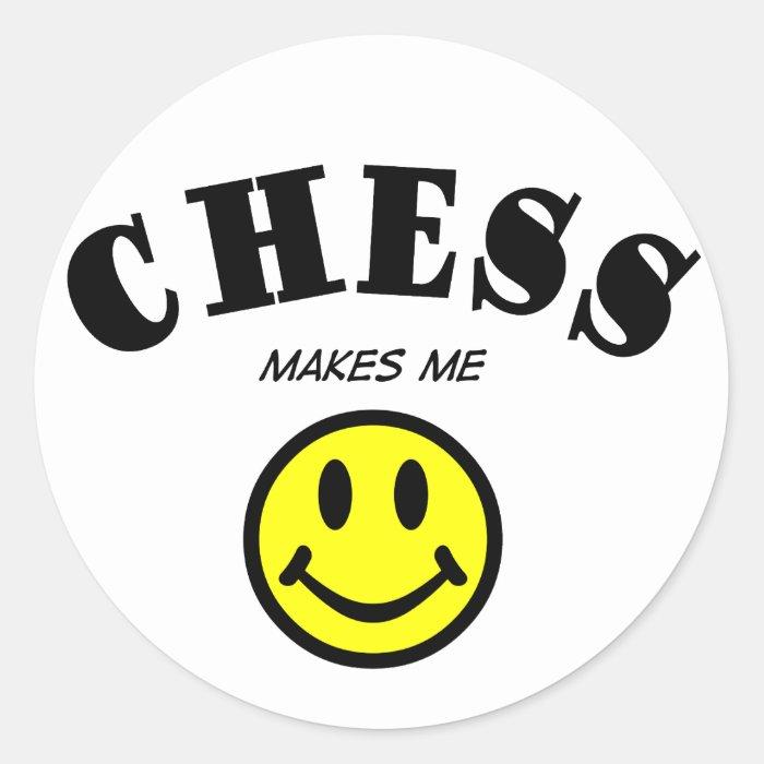 MMS: Chess Classic Round Sticker
