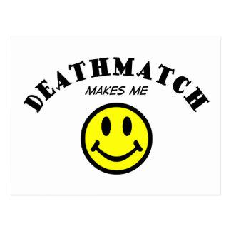 MMS: Deathmatch Tarjetas Postales