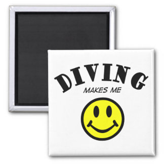 MMS: Diving Refrigerator Magnet