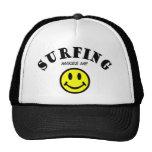 MMS: El practicar surf Gorras