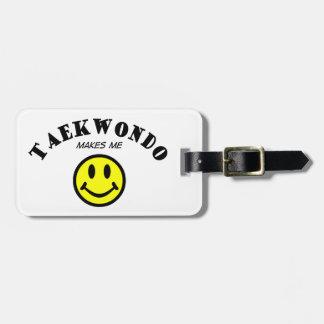 MMS: El Taekwondo Etiqueta Para Maleta