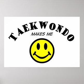 MMS: El Taekwondo Póster