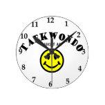 MMS: El Taekwondo Reloj De Pared