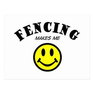 MMS: Fencing Postcard
