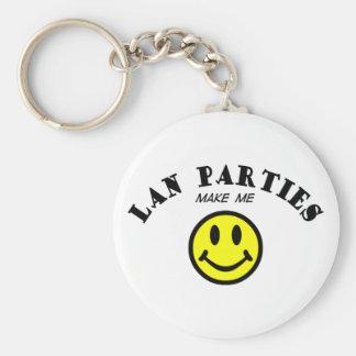 MMS: Fiestas del Lan Llavero Redondo Tipo Pin
