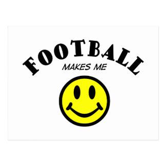 MMS: Football Postcard