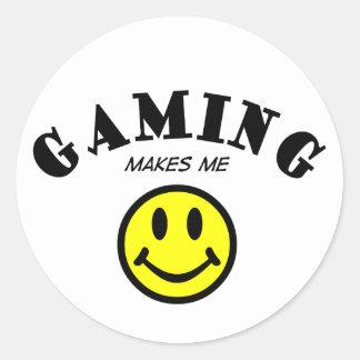 MMS: Gaming Classic Round Sticker