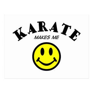 MMS: Karate Postcard