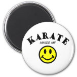 MMS: Karate Refrigerator Magnets