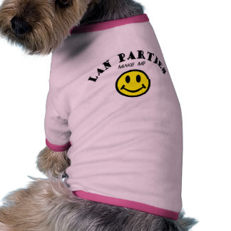 MMS Lan Parties Dog Clothes
