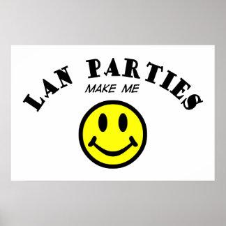 MMS Lan Parties Posters