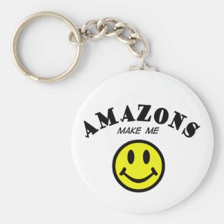 MMS: Los Amazonas Llavero Redondo Tipo Pin