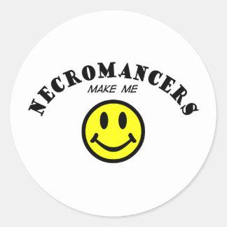 MMS: Necromancers Classic Round Sticker