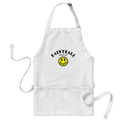 MMS: Paintball Adult Apron
