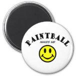 MMS: Paintball Fridge Magnet