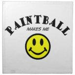 MMS: Paintball Printed Napkins