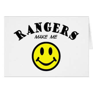 MMS: Rangers Greeting Card