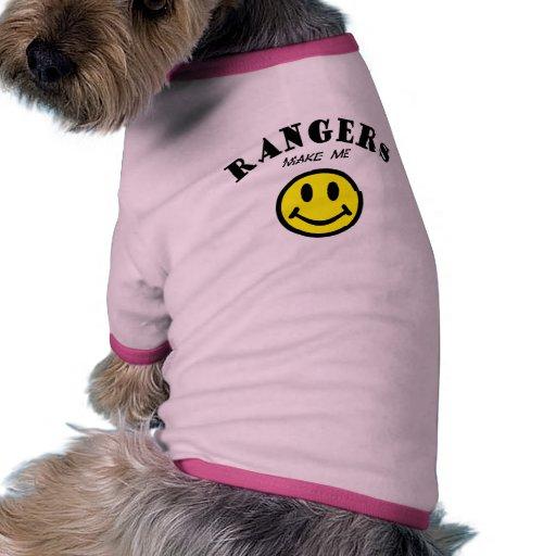 MMS: Rangers Pet Tshirt